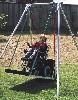 Kørestols-gynge