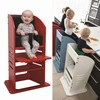 EVOLVE high chair and steep stool