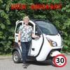Bach Delux 26 - S125 El kabine scooter
