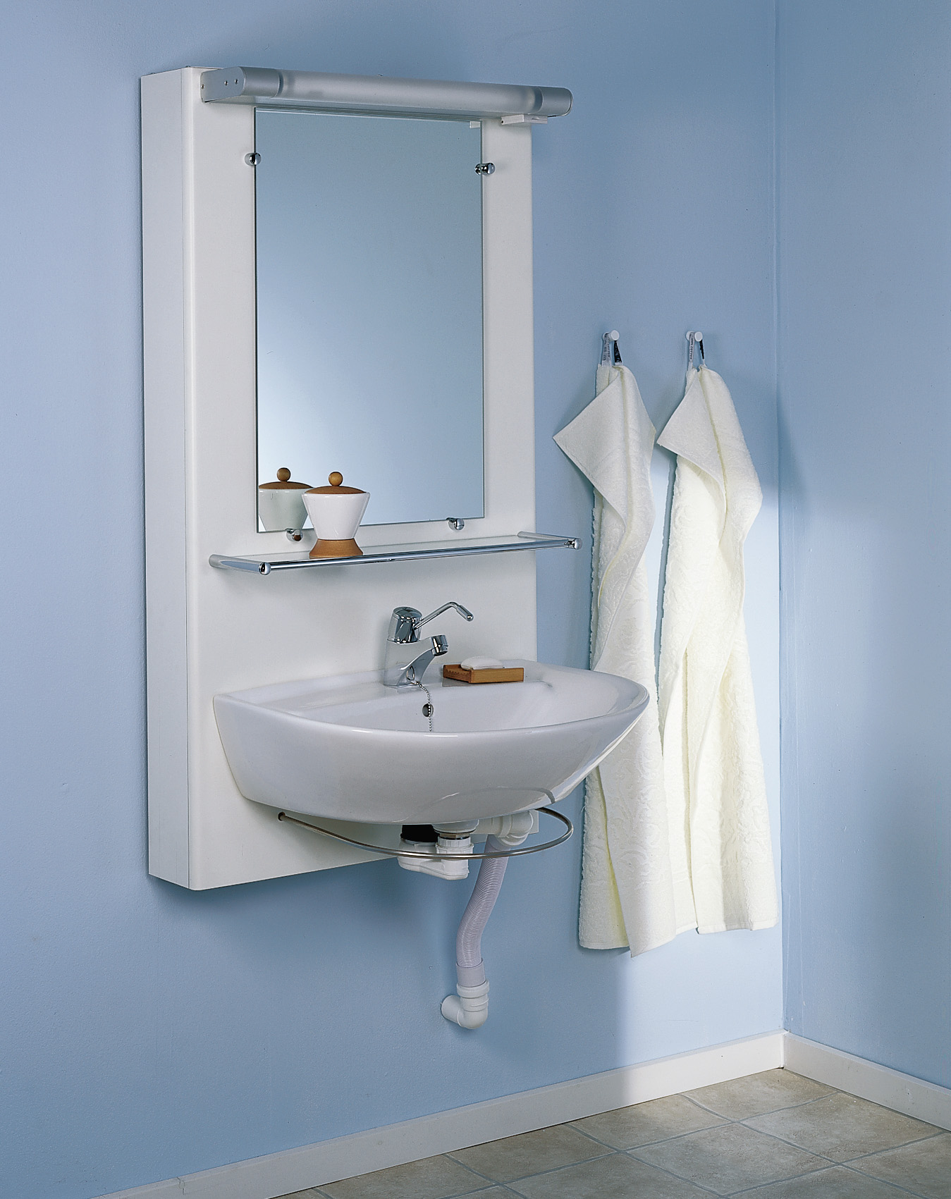 Picture of: Hjaelpemiddelbasen Ropox Basis Handvask Fra Ropox A S Hmi Nr 32308