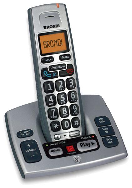 Efterstræbte Hjælpemiddelbasen - Bravo Trådløs TOP S fastnettelefon fra Tele Call FQ-07