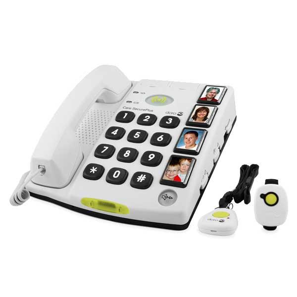 hj lpemiddelbasen doro secureplus n dkald telefon til fastnet fra tele call. Black Bedroom Furniture Sets. Home Design Ideas
