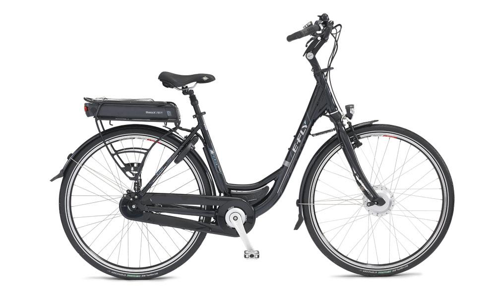 Hjælpemiddelbasen - E-Fly AGT Premium 36V el-cykel fra C. Reinhardt A/S