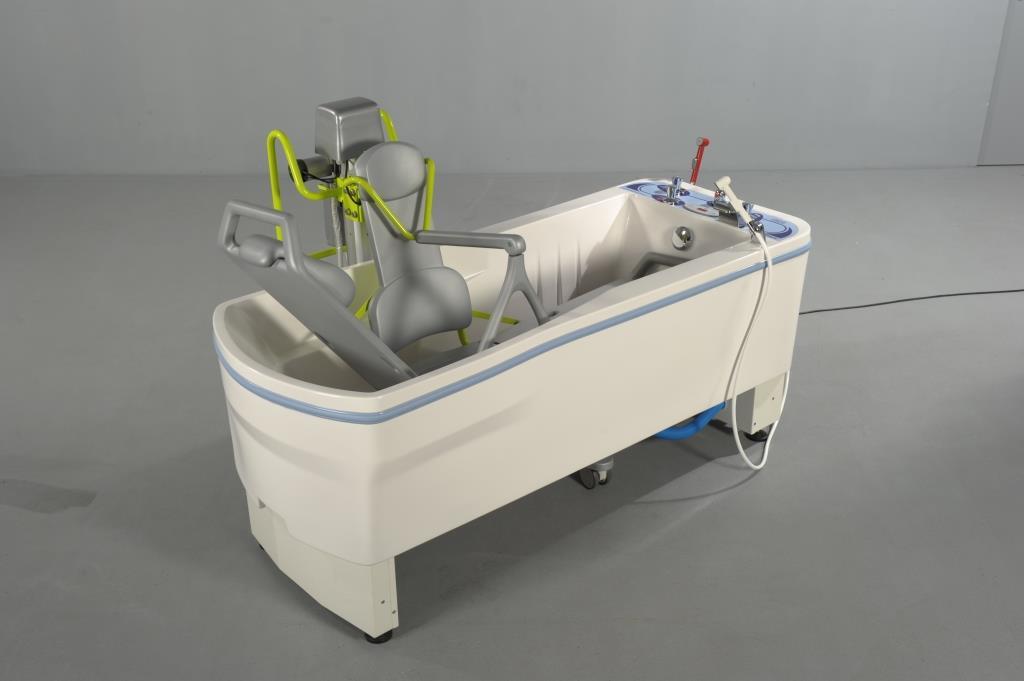 flytbart badekar Hjælpemiddelbasen   Compact badekar fra FaabRehab Technic ApS flytbart badekar