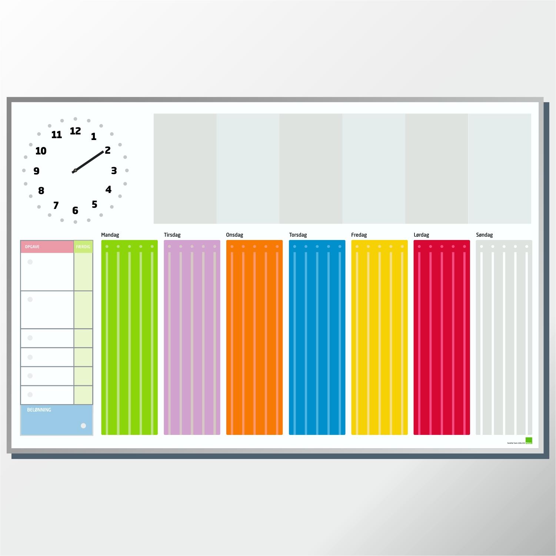 Afholte Hjælpemiddelbasen - Whiteboard Tavle med Robust Ur fra Robust NE-33