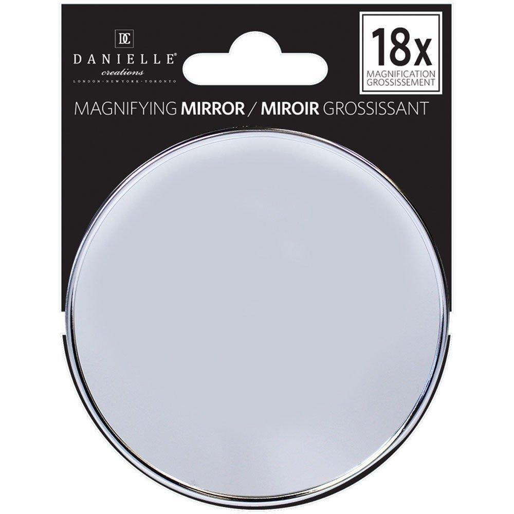 spejl med forstørrelse Hjælpemiddelbasen   9 cm spejl med sugekop, 18X forstørrelse fra  spejl med forstørrelse