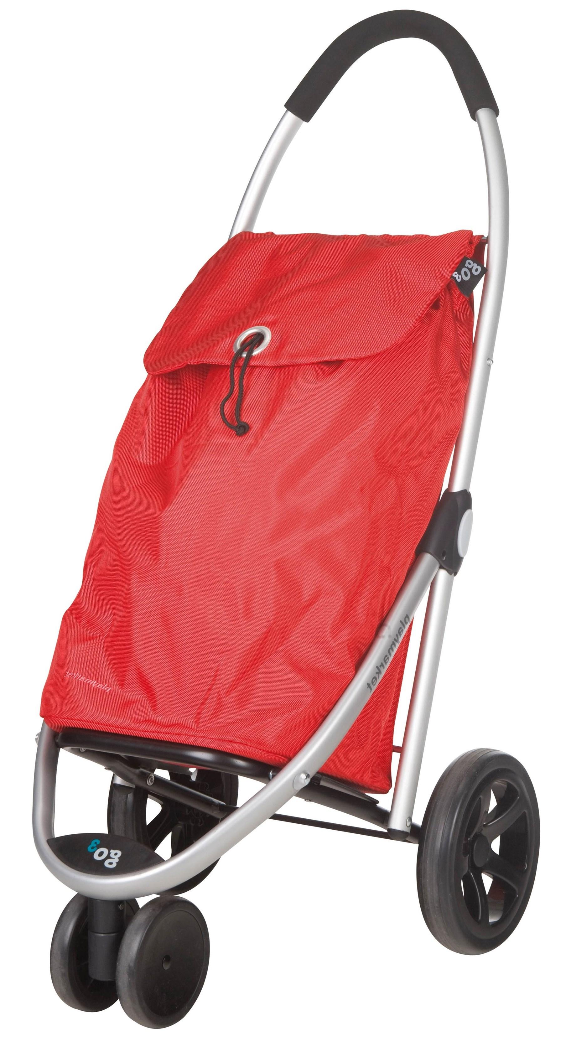 Smuk Hjælpemiddelbasen - Trehjulet shopping trolley fra LivetSomSenior ApS IQ-01