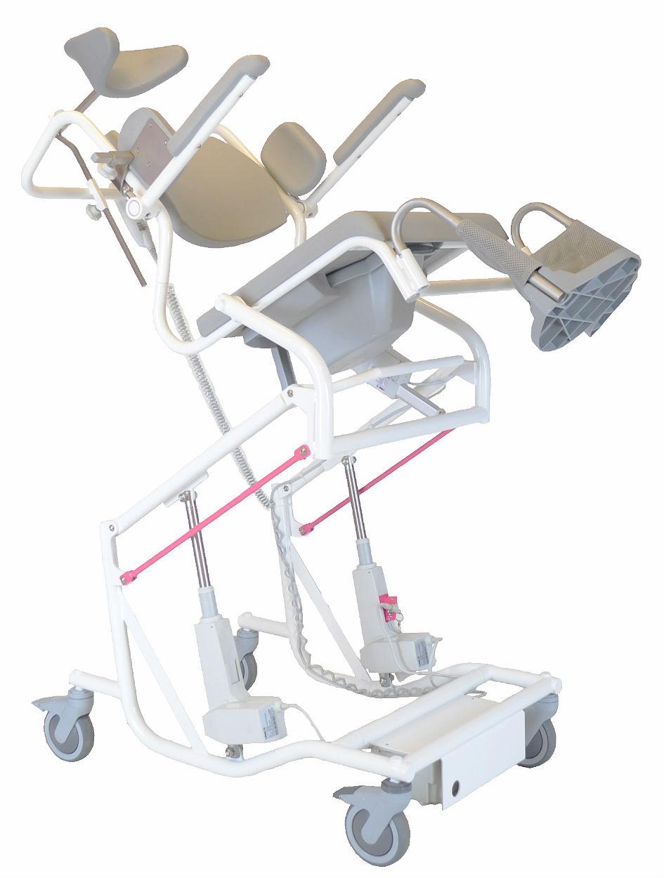 Hjælpemiddelbasen BadeToiletstol M2 Multi Tip, fast ryg