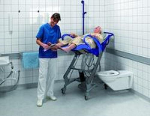 Ultra Hjælpemiddelbasen - Arjo, Carendo, Højdejusterbar hygiejne- og VJ01