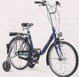 Haverich 24, m. støttehjul, friløbsbremsenav