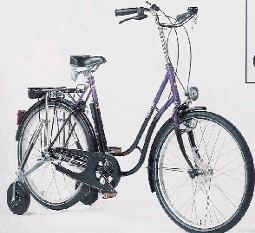 Haverich 26, med støttehjul