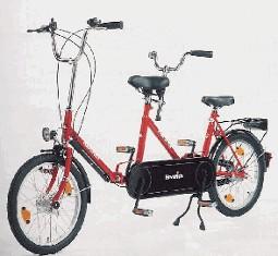 Haverich 2-hjulet Tandem