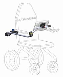 Computerarm til kørestol Type 6