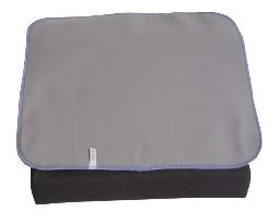 Green Wave Stolesædebeskytter, 50x50 cm