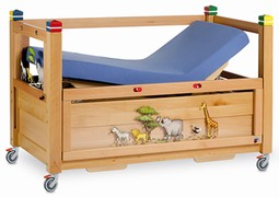Timmy 1 junior care cot 140/70 natural