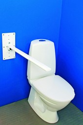 MIA toilet armrest without supporting leg, series M3
