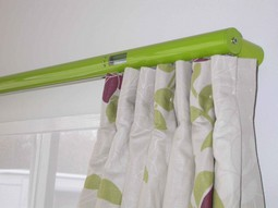 Digital curtain rails