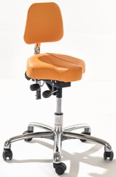 Global Gamma saddle stool