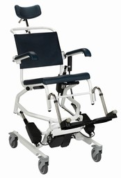 Blue Line Ergotip El mobile shower and commode chair