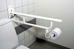 MIA toilet armrest without supporting leg, series M2