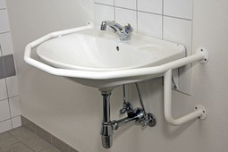 MIA washbasin grab rail