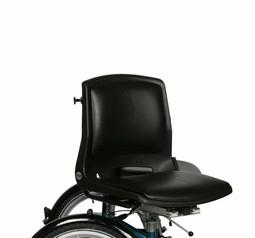 Komplet sæde med drejekonsol og hynde