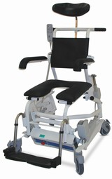 ERGOTIP 9 EL Commode & Shower Chair, reclining