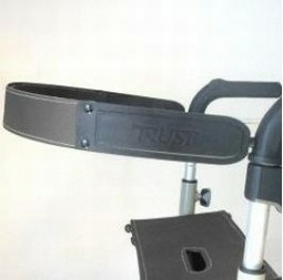 Back Support to Lets Go Out Rollator