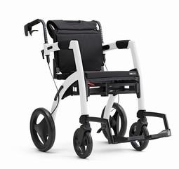 Rollz Motion kombineret rollator og transportstol