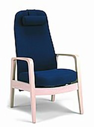 Lounge chair with tilt function