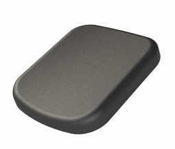 Legpad 249 x 204 mm, Black