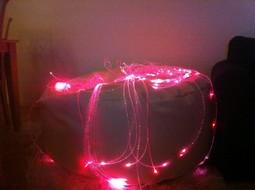 Sensorisk Fiber Optisk LED Lys