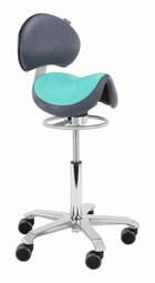 Amazone Saddle Chair Balance with lumbar support