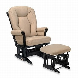 Trone Chair with ottoman