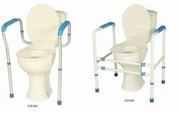 CareComfort toiletstøtter 2 ben