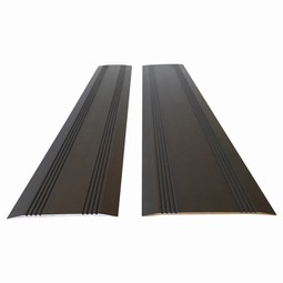 Threshold ramps in aluminium, for wheelchairs and walkers