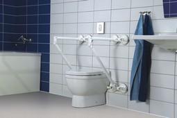 Mobeli QuattroPower Toiletstøtte