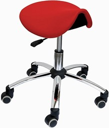Sanus saddle chair without armrests