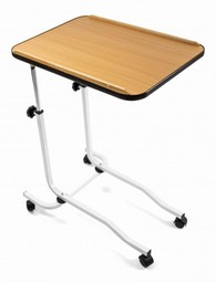 Heigh adjustable bed table