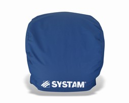 Systam removeable back cushion for half-moon cushion