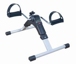 Træningscykel med digitalt display