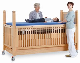 Timmy 2 care cot 200/100 cm natural