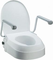 Fast toiletsæde