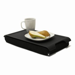 Tray with pillow