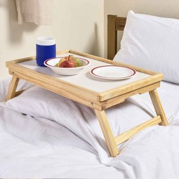 Adjust able bed tray
