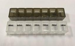 Praktisk lille tabletæske 7 dage