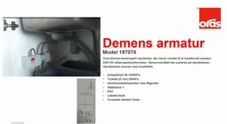 Oras demens faucet solution