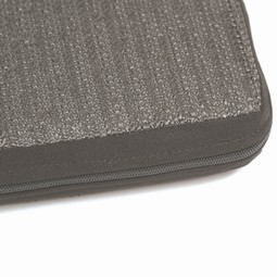 Seat cushion with polyester cover