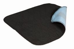 Inkontinens siddeunderlag med anti-slip