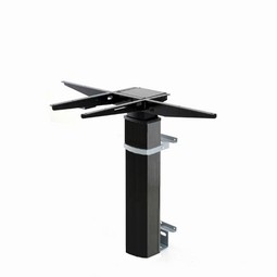 Conset 501-19 wall mounted height adjustable desk frame